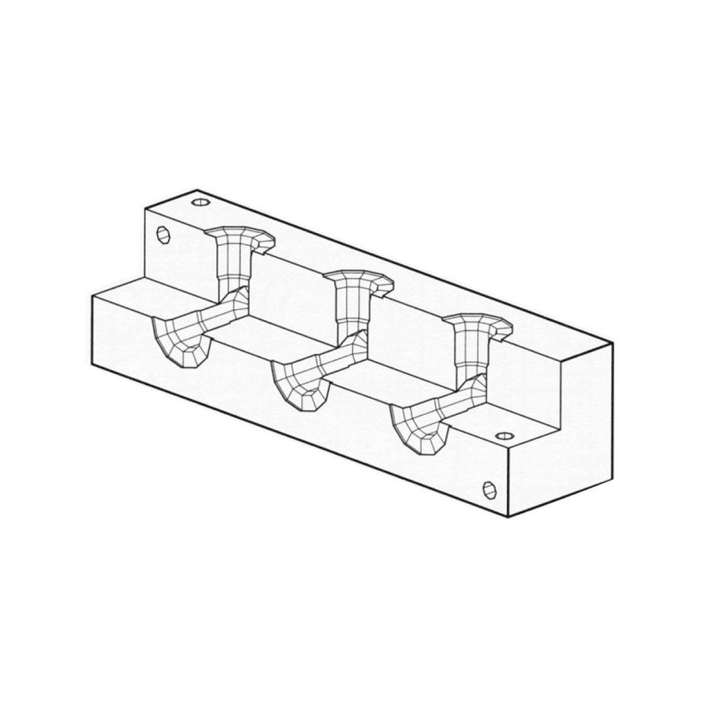 junction manifold  u2013 90 u00b0